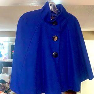 Royal blue overthrow jacket $8